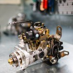 Pompa Lucas sterowana mechanicznie